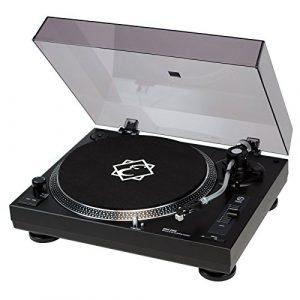 Eagletone Oneone Platine vinyle USB Noir
