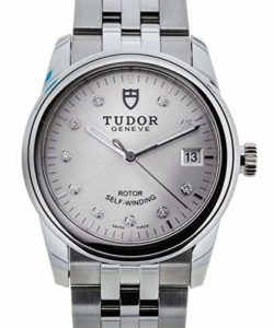 Tudor 55000 Glamour Date Argent