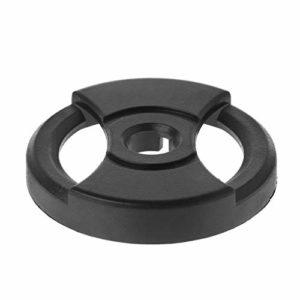 Gwxevce Record Adapter 38mm 7″45RPM Phonograph Audio Technicas Noir