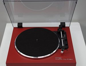 thorens platine vinyle / edition red music on vinyl