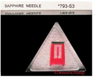 Aiguille pour lecteur de disque photo 78 tr/min compatible avec les joueurs de crosley nostalgie 793-D3