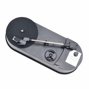 #N/A Élégant Convertisseur De Plaque Tournante En Céramique Disque Vinyle Lecteur CD MP3 Avec Câble USB