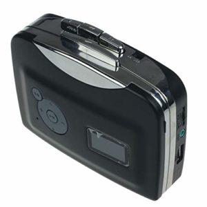 Sourcingmap Lecteur cassette audio MP3 vers USB Noir