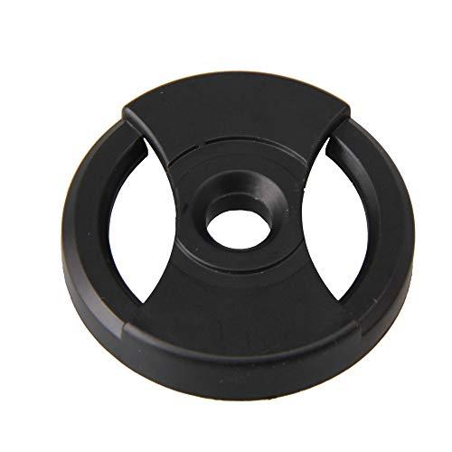 BQLZR Adaptateur convertisseur de broche en plastique 45 tr/min 38 x 7,2 x 7 mm