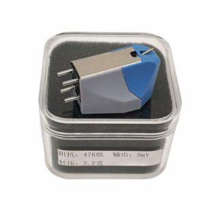 Buyfunny01 13 mm Magnétique mobile Lecteur de Enregistrement, Aiguille Accessoires LP Vinyle Maison