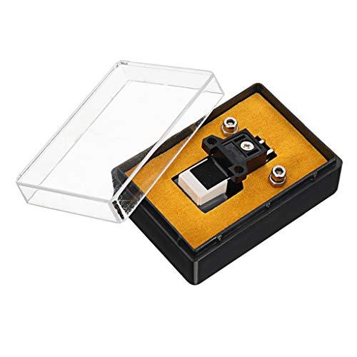 chenpaif Stylet à Cartouche, Stylet à Cartouche magnétique avec Aiguille en Vinyle LP Accessoires pour Aiguille de Stylet d'enregistrement de Gramophone de Platine Vinyle
