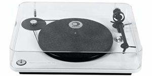 Elipson Chroma 400 RIAA BT Blanc laqué Platine Vinyle HiFi