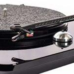 Elipson Chroma 400 RIAA Noir laqué Platine Vinyle HiFi