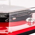 Elipson Chroma 400 Rouge laqué Platine Vinyle HiFi