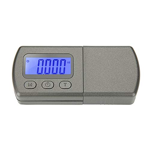 ZDYS Stylet numérique pour platine, jauge de force 0,01 g Noir Lcd Rétroéclairage, Jauge de pression de la force de suivi pour Tonearm Phono, Pas de zéro, Voir image, stylus force gauge