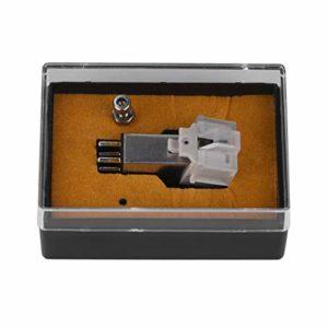 HGY Cartouche magnétique Stylus avec LP Vinyle Aiguille Compatible avec Turntable Record Player