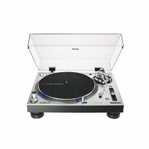 Audio-Technica AT-LP140XP Platine professionnelle à entraînement direct – Argent