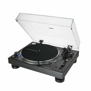 Audio-Technica – AT-LP140XP Tourne-Disque Manuel Professionnel à entraînement Direct Noir
