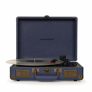 Crosley Cruiser Deluxe Portable Turntable (Navy)