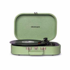 Crosley Discovery Portable Turntable (Seafoam)