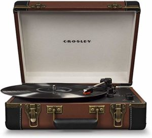 Crosley Executive Portable USB Turntable w/Bluetooth (Brown)