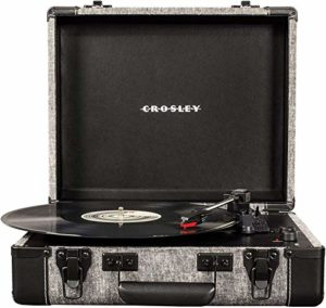 Crosley Executive Portable USB Turntable w/Bluetooth (Smoke)