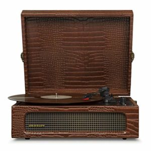 Crosley Voyager Portable Turntable (Brown Croc)