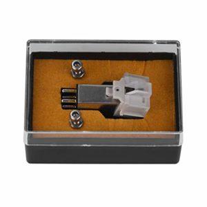 GAESHOW Stylet à Cartouche magnétique avec Aiguille en Vinyle LP pour Platine Tourne-Disque Accessoires Stylet à Cartouche