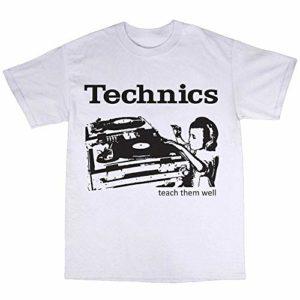 shengyang SL-1210 DJ Decks T-Shirt 100% Cotton SL-1200 Turntables Mk2 Mk5 Record