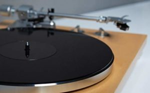 SLIPMAT Disque de protection en acrylique pour tourne-disque Noir 1189