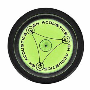 Socobeta Stabilisateur d'enregistrement Stabilisateur de Poids de Disque Vinyle Portable LP Stabilisateur d'enregistrement de Disque de Haute précision(Noir)