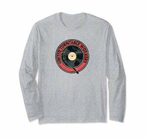 United Turntable Workers DJ Tourne-disque vinyle Nerd Analog Manche Longue