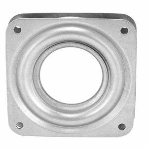 Roulement Rotatif Robuste Remplacement de Plaque Tournante à Rotation à 360 Degrés pour Meubles Supports de Télévision et Platines Tournantes(72mm)