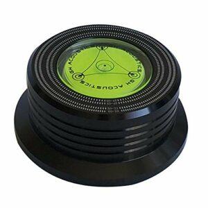 Stabilisateur de disque vinyle disque stabilisateur disque vinyle 50 / 60HZ Stabilisateur de disque vinyle, LP Platine vinyle vinyle Réduire Vibrer Musique Stabilisateur de disque universel