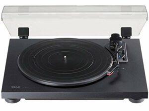 Teac TN-180BT-B Tourne-Disque analogique 3 Vitesses avec égaliseur Phono et Bluetooth Noir