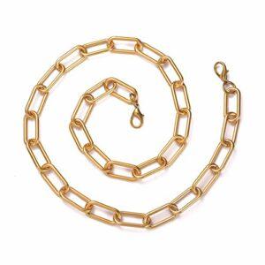 Asudaro Chaîne de sac, 35/98/108/118 cm, chaîne de transport, courroie, courroie de sac à main, courroie de courroie de courroie d'épaule