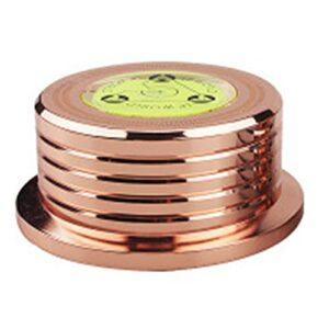 Fltaheroo Pince de Poids Universelle en Aluminium pour Stabilisateur de Platine Disque Vinyle LP 60Hz LP Rose Or