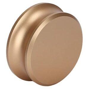Pince de platine en aluminium, stabilisateur de poids pour platines d'enregistrement réduisant les vibrations inutiles avec un matériau en silicone pour l'enregistrement(ou)