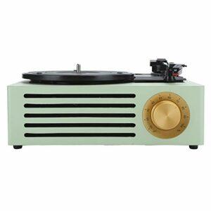xiji Tourne-Disque, Platine Vinyle Vintage 5.0 JL Sortie Unique Plug and Play pour disques vinyles Films pour disques vinyles 7/10/12 Pouces