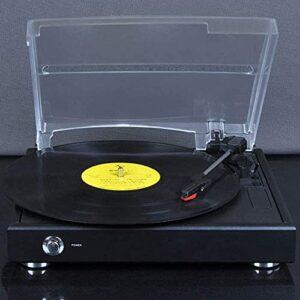 ZXYDD Lecteur de disques vinyles rétro – phonographe – Machine de rempotage – Gramophone vintage