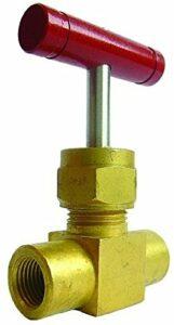 B15-01345 – Valve aiguille laiton – 1/2″ BSPP Aiguille-Laiton
