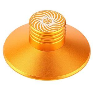 Ruiqas Pince pour disque vinyle, disque audio, disque vinyle, stabilisateur de disque en aluminium