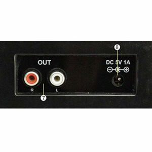 SXLCKJ Tourne-Disque, Ornements Bleu Machine de rempotage à Trois Vitesses Continental Ornements Vinyle Phonographe Machine Bluetooth