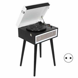 Weikeya Ancien Vinyle Enregistrer Joueur, 3in 2 X 4Ω5W Abdos 150Hz-20kHz 90 DB